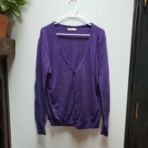 Old Navy Lightweight Button Front Cardigan